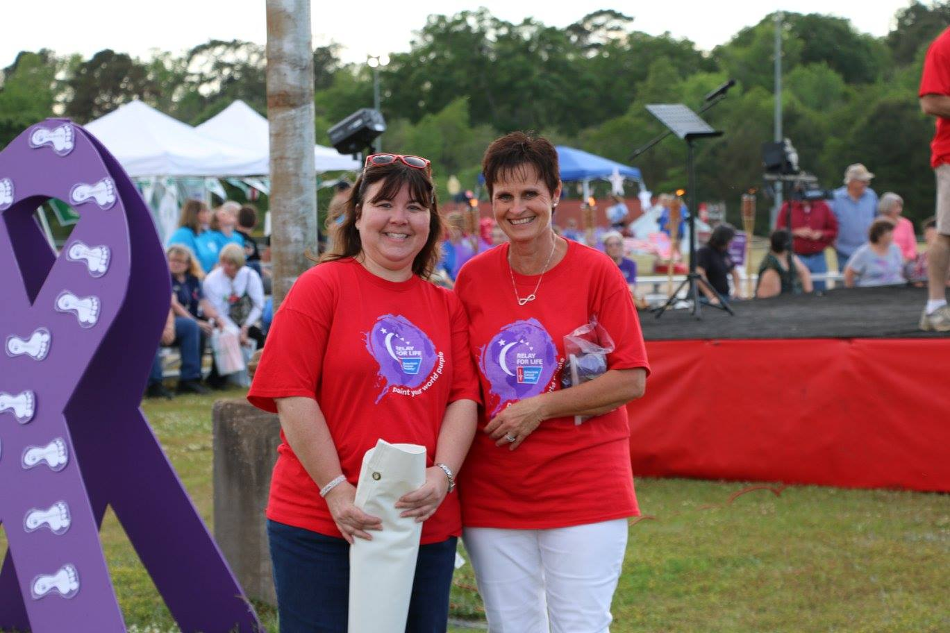 relay for life kim and denese