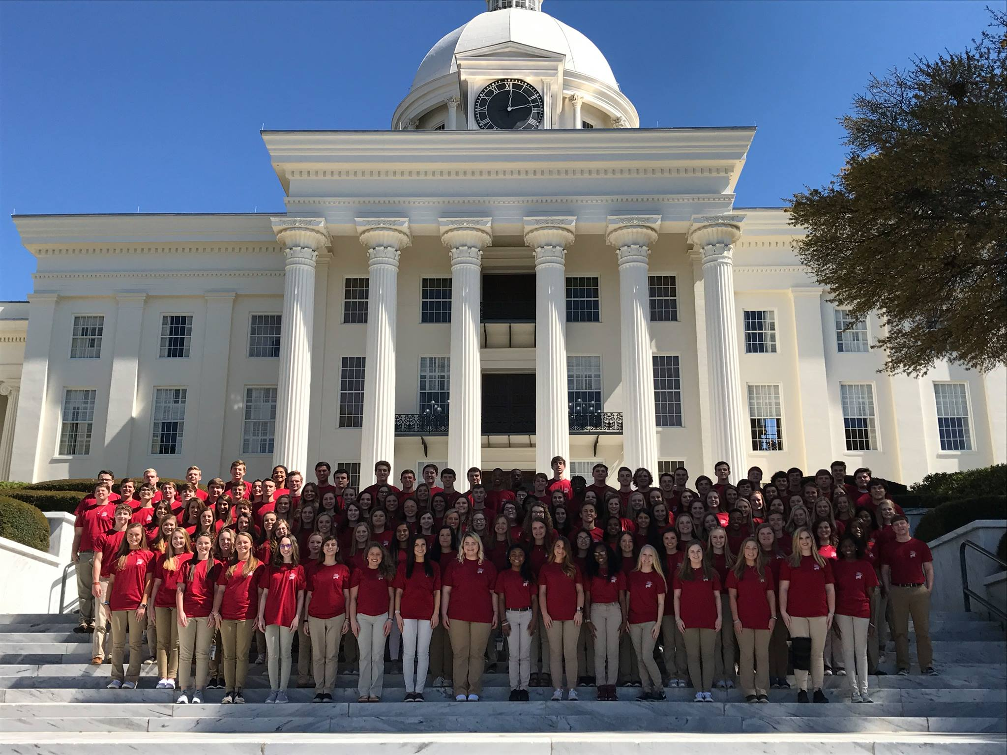 capital building youth tour whole group 2018