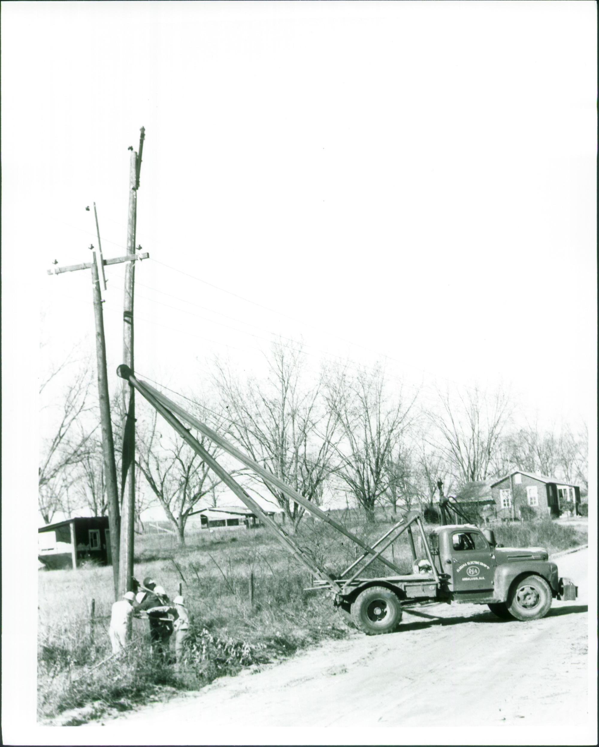 early REA Truck