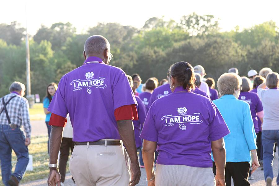 relay for life survivors walking