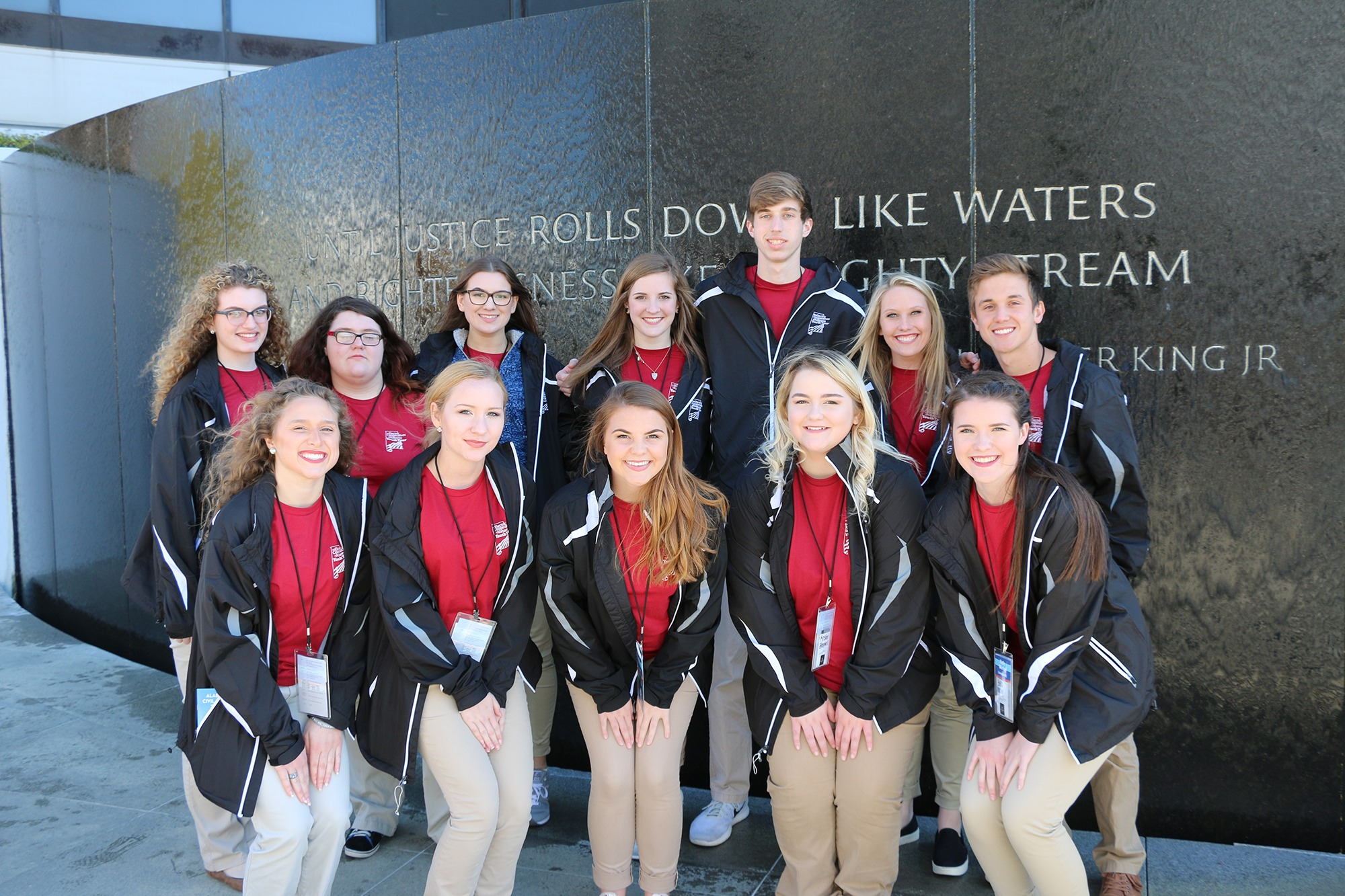 civil rights memorial youth tour