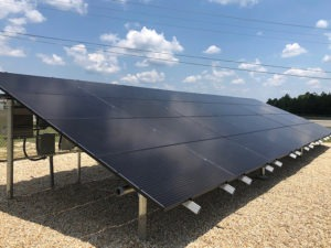 Picture of solar array