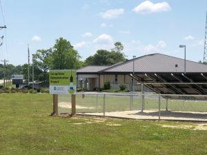 Co-op solar demonstration project