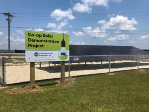 Picture of Co-op solar demonstration project